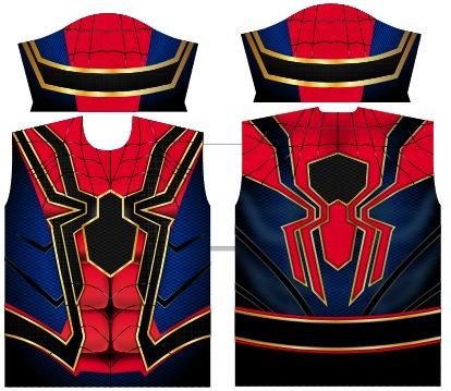 Camisa Compressão Iron Spider Man - Iron Spiderman