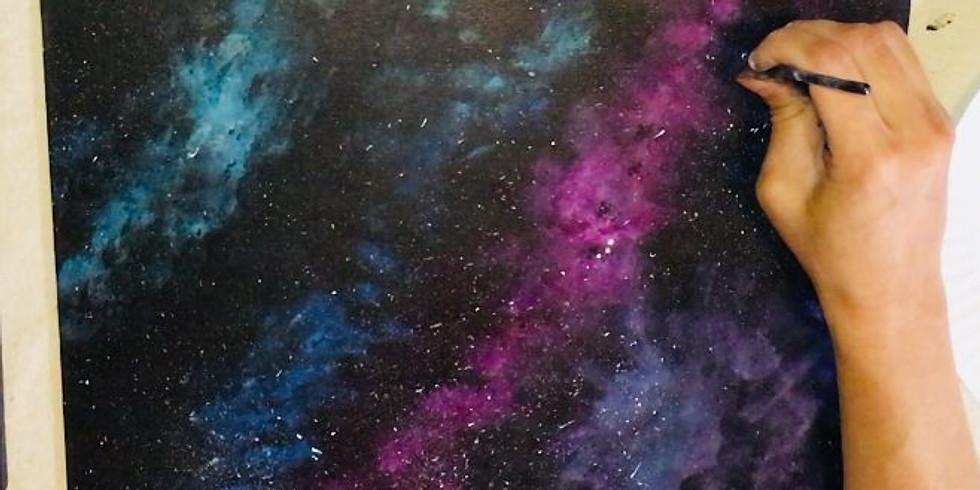Galaxy Painting (Teens & Adults)