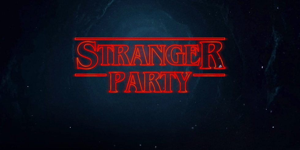 Stranger Things Party (Grades 6 to 12)
