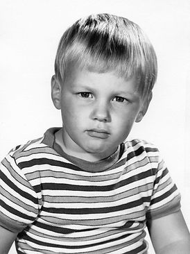 Stephen Shaw as a young boy