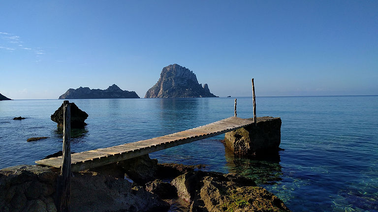 Stephen Shaw at Es Vedra Island, Ibiza, Spain