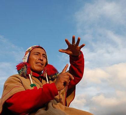 Q'ero shaman, Peru