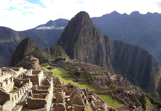 Stephen Shaw at Machu Picchu, Peru