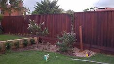 Jarrah fence Perth Timber Fencing