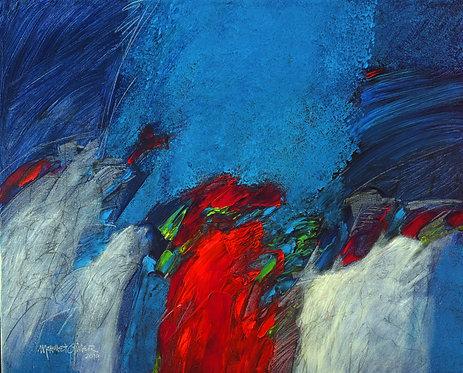 """Mehmet Güler """"Blau träumen II"""""""