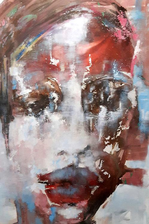 """Monika Lehmann """"Face #93"""""""