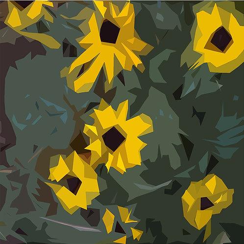 """Ursa Schoepper """"Sonnenblumen (Variante I)"""""""