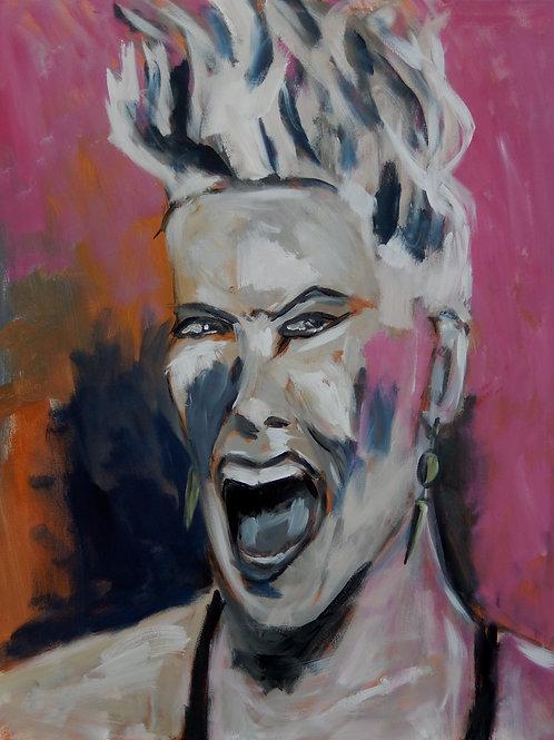 """Gisela Hammer """"17-38. SoWhat. Pink"""""""