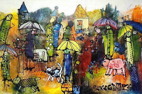 "Friedrich Wurm ""Singing in the Rain"""