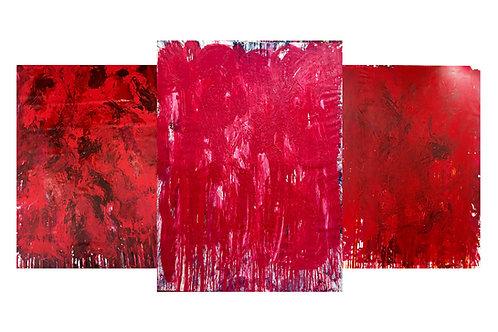 "Ela Reitinger ""Triptychon Rosso"""