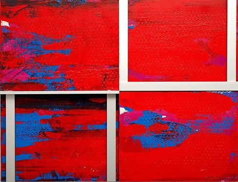 "J.F. Sochurek ""BLUE RED BLUE"""