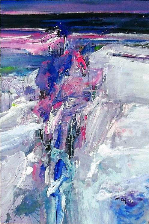 """Monika Lehmann """"Gletscherspalt #4"""""""
