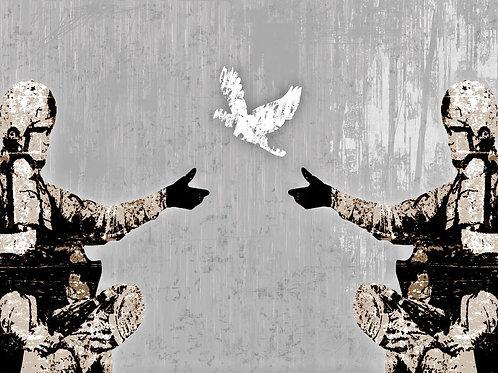 """Denkstahl """"Friedensangebot"""""""