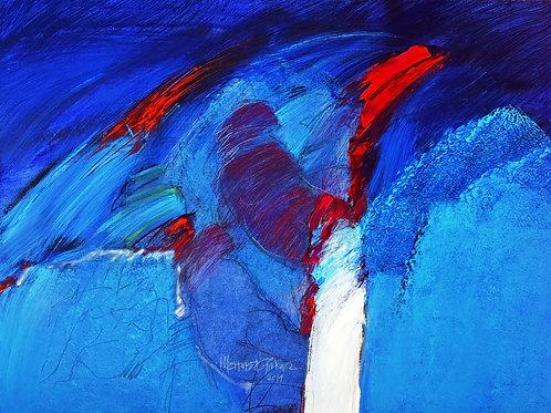 """Mehmet Güler """"Blau träumen I"""""""