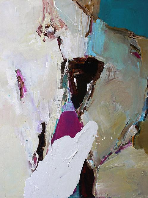 """Josef Thalhofer """"Landschaft abstrakt I"""""""
