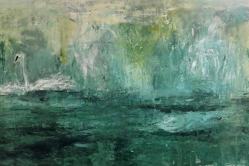"Asma Kocjan ""Calm at the Lake"""