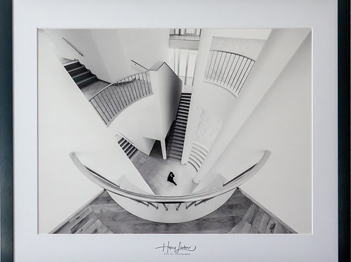 "Harry Lieber ""Man And Stairs"""