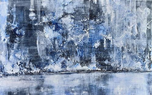 "Monika Lehmann ""Winter am Fluss"""