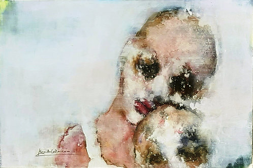 """Monika Lehmann """"Face #118"""""""