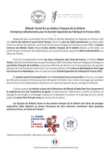 Annonce Gde Expo Fabriqué en France 202