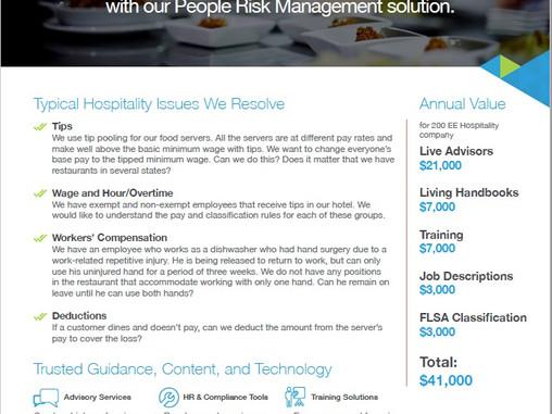 Hospitality Risk Management Services