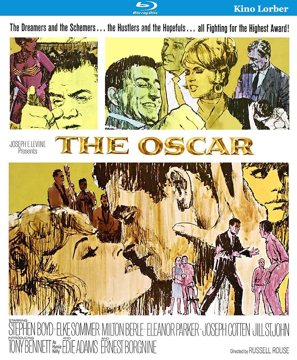 Cover art for Kino Lorber Studio Classics' new release of THE OSCAR.
