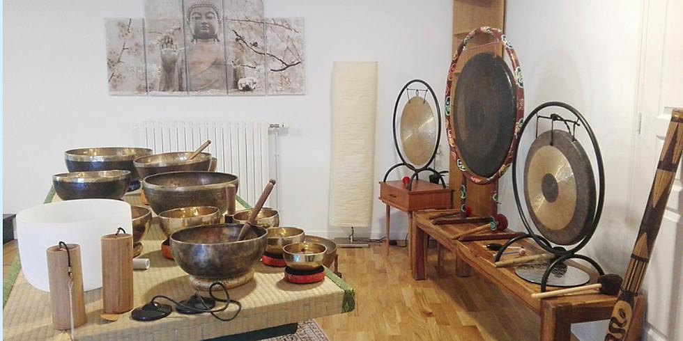 CONCERT SAINT JEAN 19H-23H bols tibétains gongs tambours lyre de cristal mantras