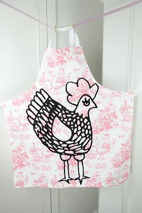 La Cocotte Pink Rose Adult apron