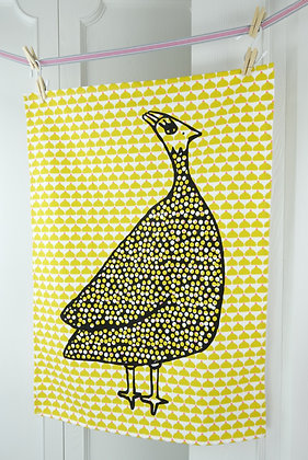 La Cocotte Paris Tea Towel (Yellow cupcake