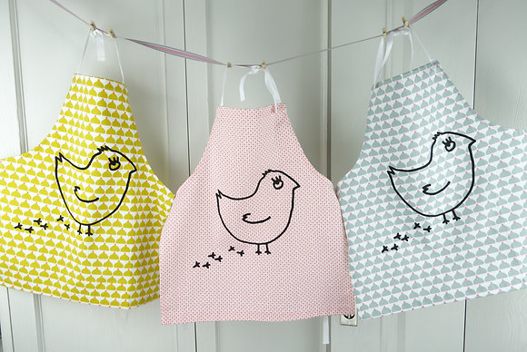 La Cocotte Paris kids apron (chicken)