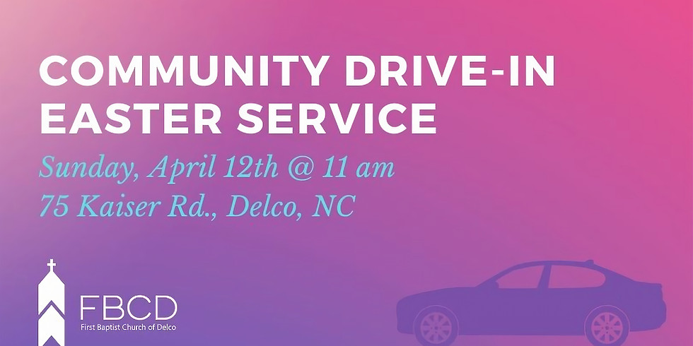 Community Drive-in Easter Service