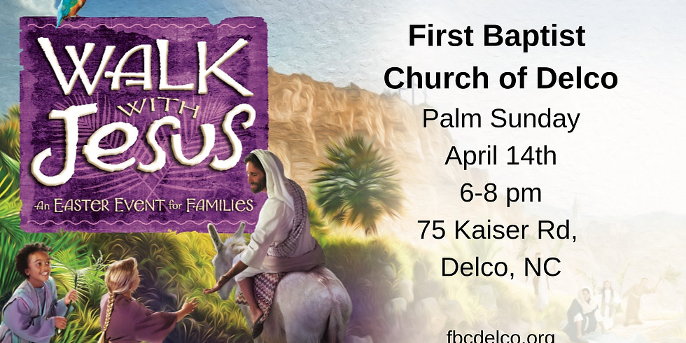 Walk With Jesus: An Easter Experience