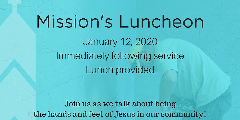 Mission's Luncheon