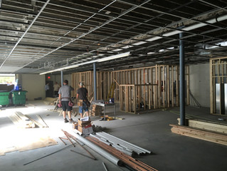 Tri-City Family Services Activity Center under construction!