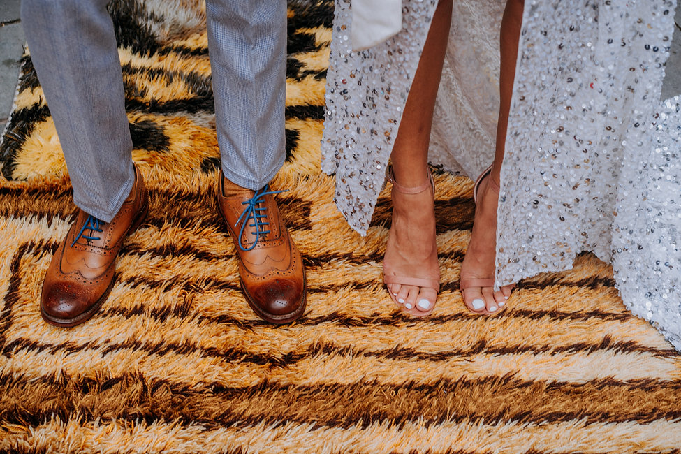 Feet on carpet-lex-fleming-hulabaloo-collective-wedding-planning