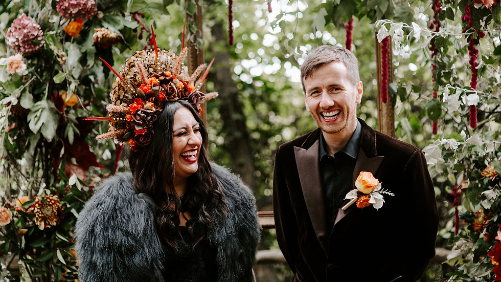 House in the Woods a bohemian Elopement Wedding Packages at The Hullubaloo Collective