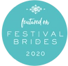 Featured on Festival Brides 2020