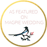 As featured on Magpie Wedding