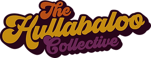 The Hullabaloo Collective Logo in Retro Font