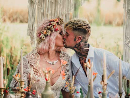 Fields of Gold - Summertime wedding inspiration for free-spirited bohemians