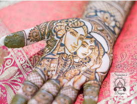 Samira's Illustrations with Henna are Known World Wide.  Let Your Story Line be Told in Your Bridal Mehndi.