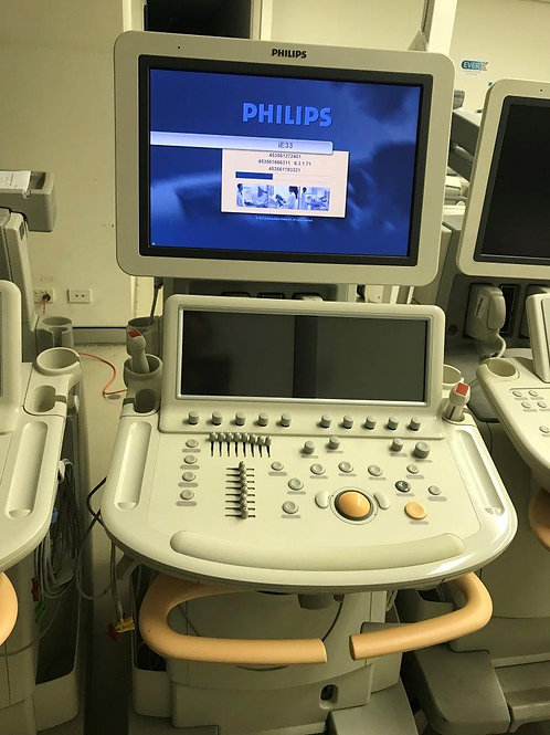 Used Philips iE33 Cart G.1 Ultrasound machine SKU4513