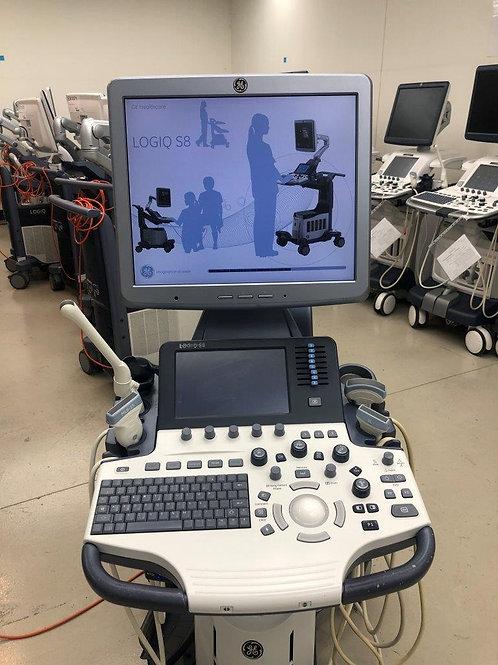 Used GE Logiq S8 Ultrasound machine SKU4536
