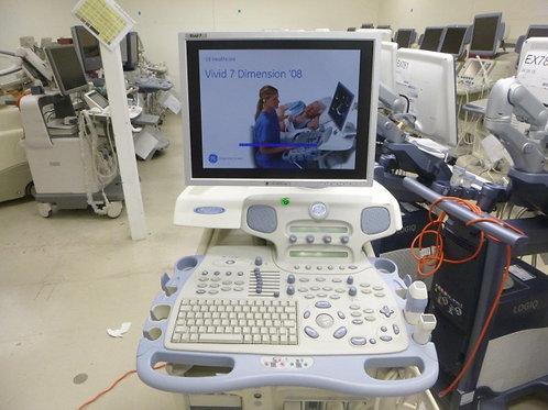 GE Vivid 7 Dimension Ultrasound SKU4490