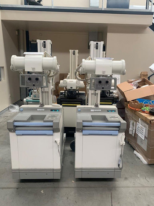 Used GE AMX4+ Mobile X-Ray system EX2005
