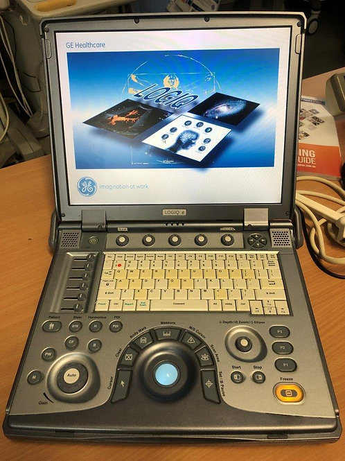 Used GE Logiq e portable ultrasound machine SKU4549