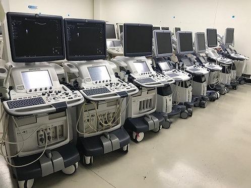 Used GE Logiq E9 – multiple machines available SKU4532