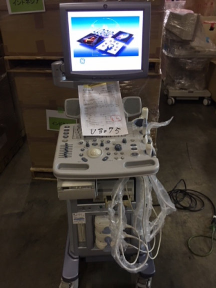 Used GE Logiq P5 Ultrasound machine SKU4476