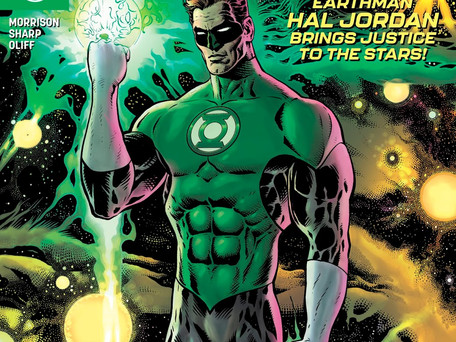 Green Lantern #1 Review - The Return of the Space Cop