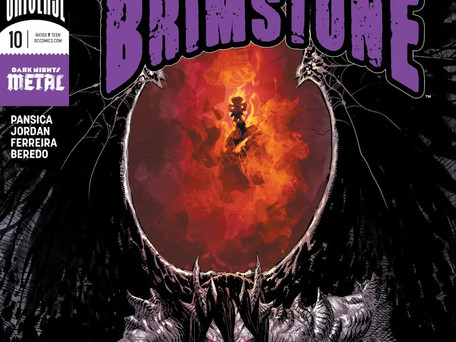 The Curse of Brimstone #10 Review - Losing the Light...